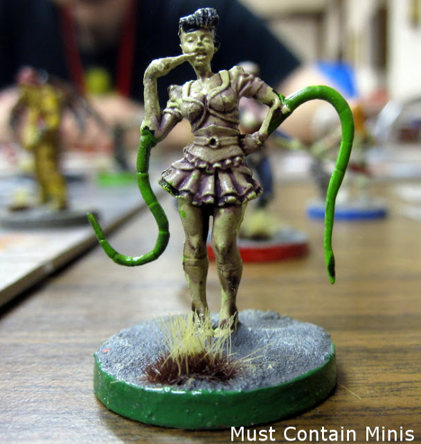 Painted Player Character in The Others Board Game