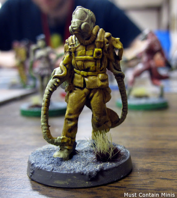 A Firefighter Miniature in The Others