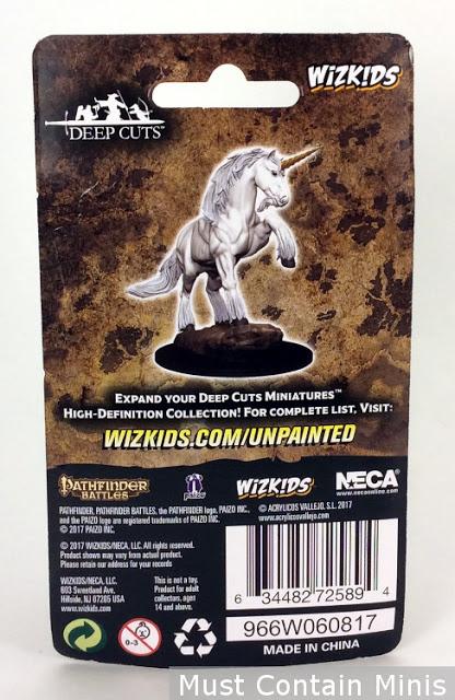 Pathfinder Unicorn Miniature Packaging - Rear