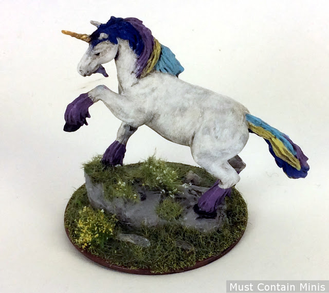 Pathfinder RPG Unicorn Minaiture