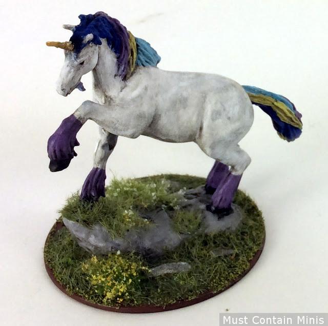 Unicorn Miniature by WizKids