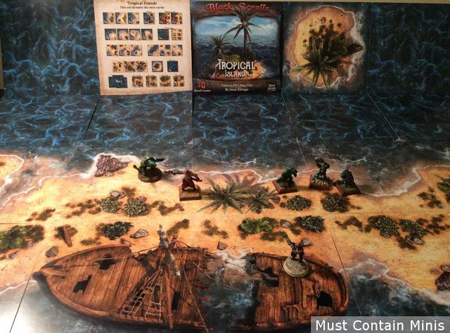 Terrain Display for Frostgrave Ghost Archipelago