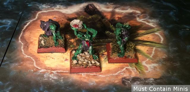 Miniature Deep Ones on an Island - RAFM