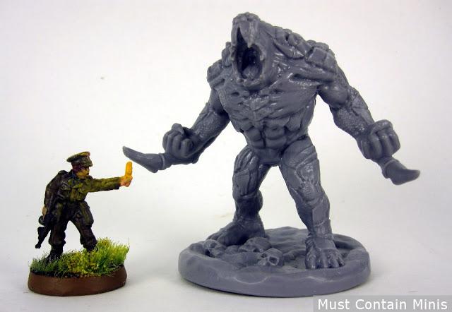 Giant Fireteam Zero Monster