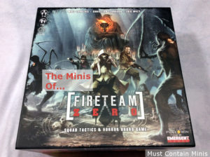Fireteam Zero – The Minis in the Box