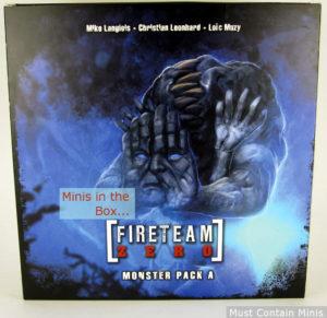 Fireteam Zero: Monster Pack A – Minis in the Box