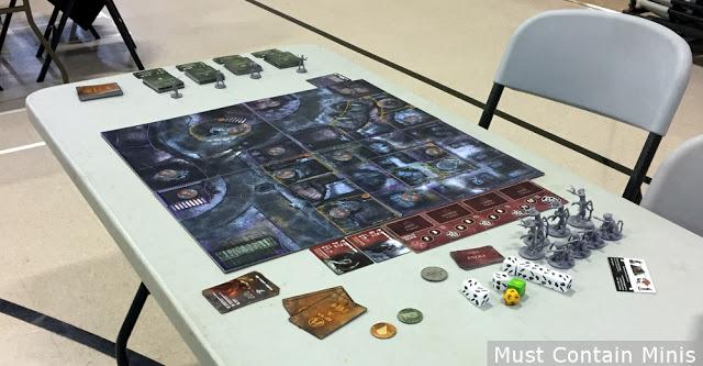 Demoing Fireteam Zero at a local Board Game Night