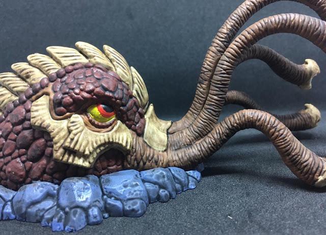 Painted Board Game Sand Kraken - Shadows of Brimstone