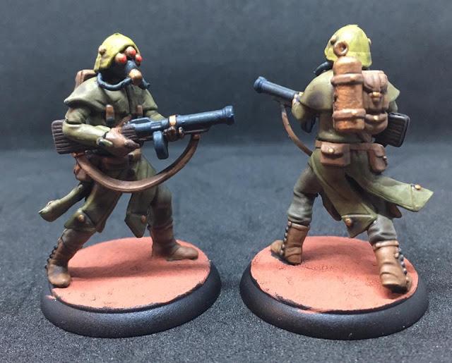 Painted Trederran Legionnaires - Shadows of Brimstone