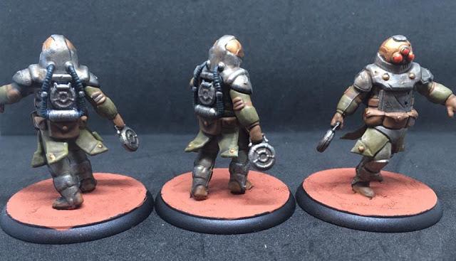 Painted Z-4 Grenadiers - Shadows of Brimstone