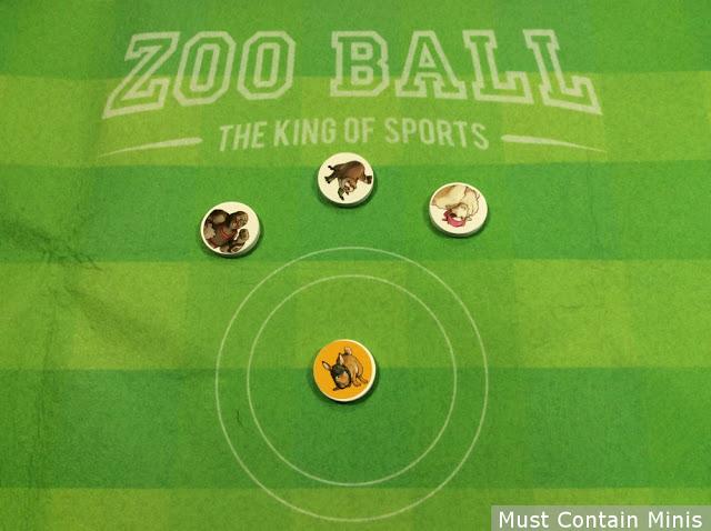 Zoo Ball the Board Game