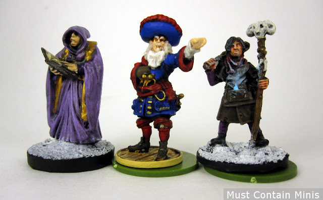 Blood & Plunder Miniature Scale Comparison to Reaper Miniatures and North Star Military Figures