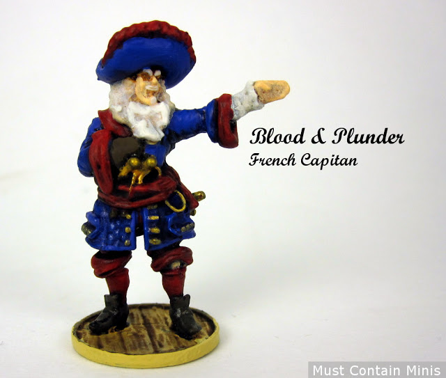 Blood & Plunder French Captain – Showcase