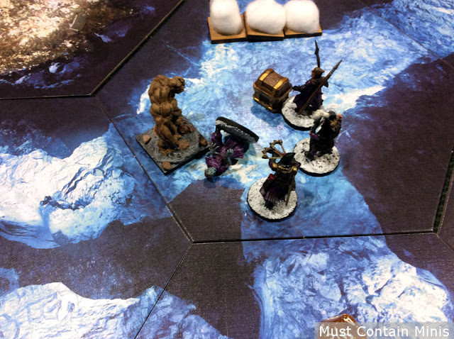 Zombie takes out Zombie in Frostgrave