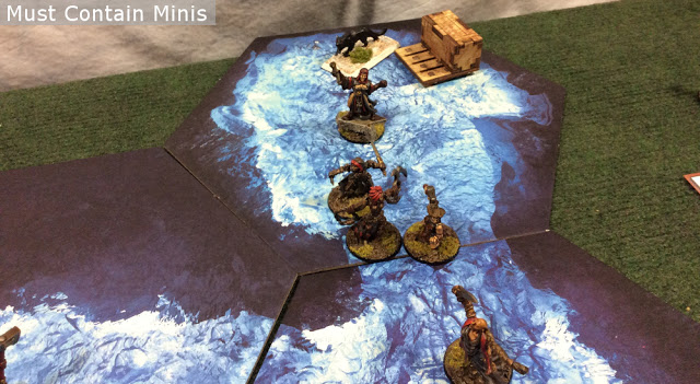 Frostgrave Battle Report on TerraTiles