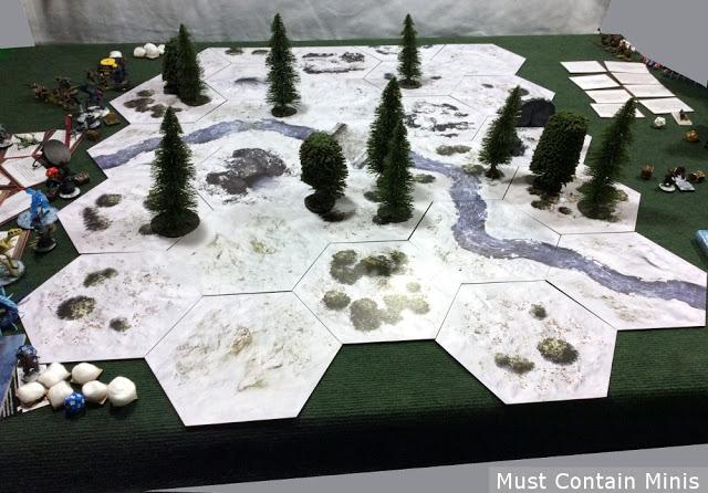 Frostgrave Table using TerraTiles