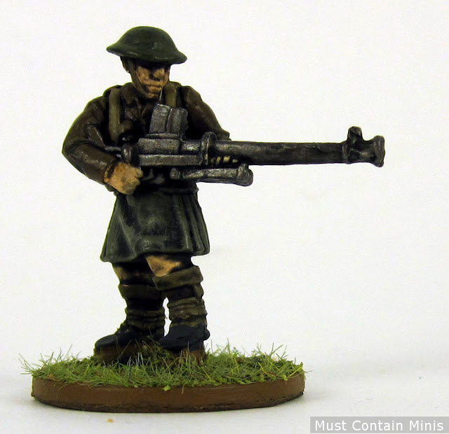 Boy's Anti-Tank Rifle Proxy Miniature for Bolt Action