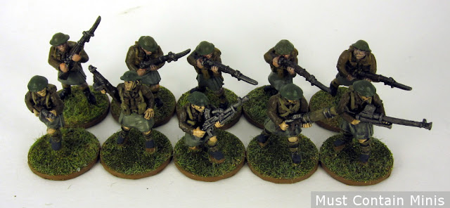 Alternative Miniatures for Bolt Action - British Soldiers / Commandos