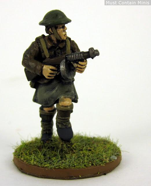 Painted British Soldier - WW2