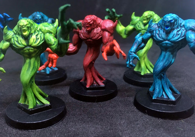 Nightwalker Painted Miniatures - Sword & Sorcery Board Game
