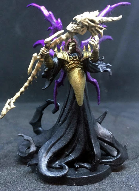 Undead Lord Painted Miniature - Sword & Sorcery Board Game