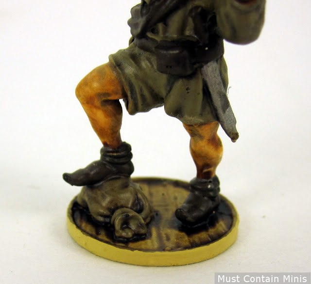French Boucanier Miniature - Closer look at the base