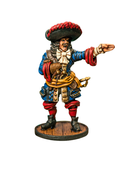 French Commander from Firelock Games Website (Blood & Plunder)