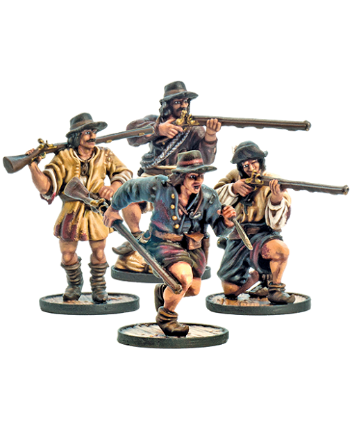 French Boucaniers from Firelock Games Website