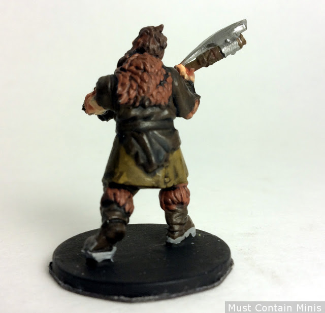 Ax Man for Frostgrave (templar of the Barbarians)
