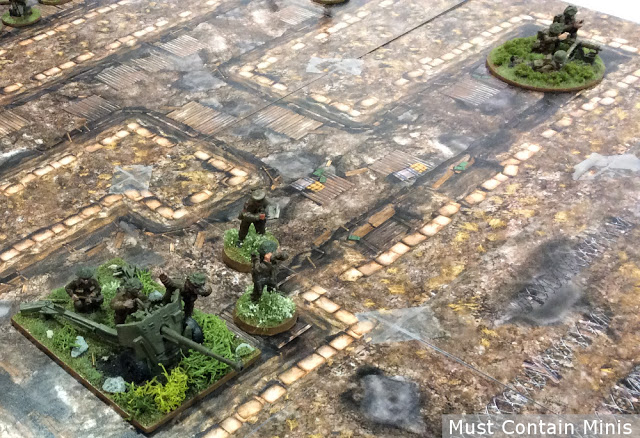Bolt Action on Paper Trenches Terrain