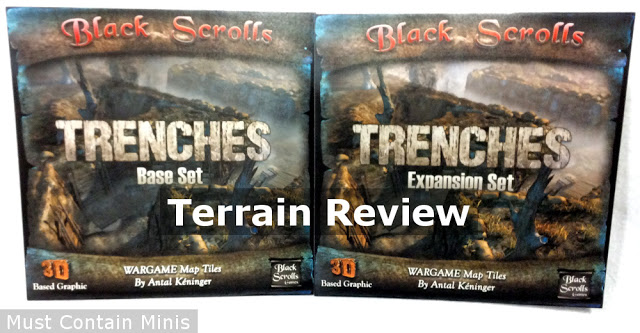 Terrain Review: Trenches Map Tiles by Black Scrolls Games