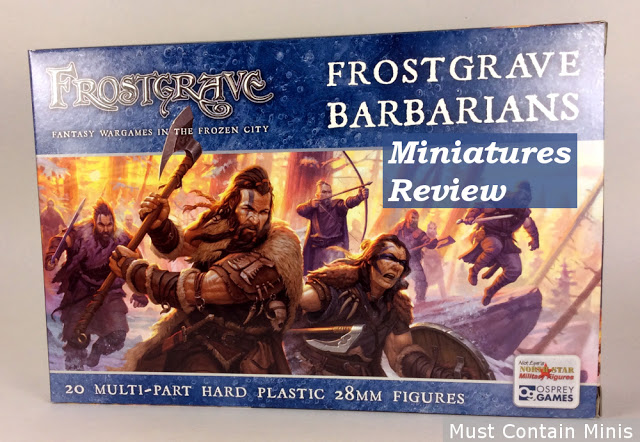 Review of Osprey Games' Frostgrave Barbarians - North Star Military Figures