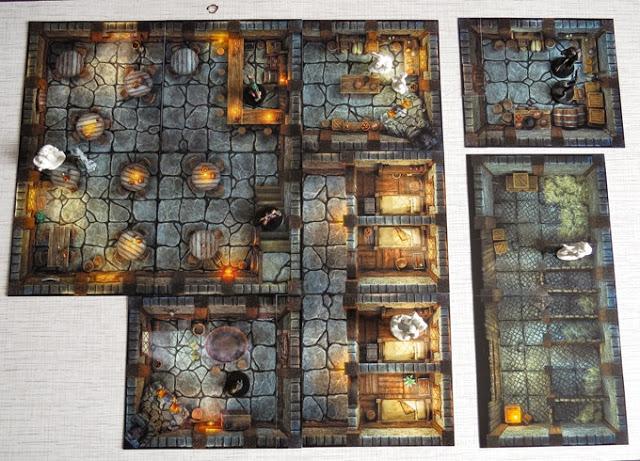 Modular Inn Tiles for Miniatures Games or RPGs