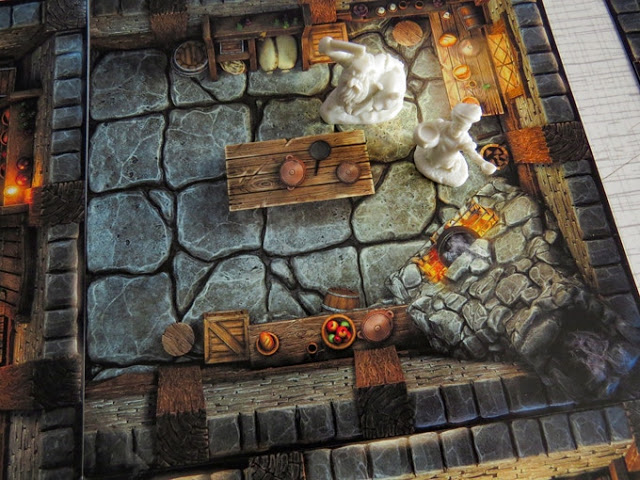 Modular Inn Terrain for RPGs