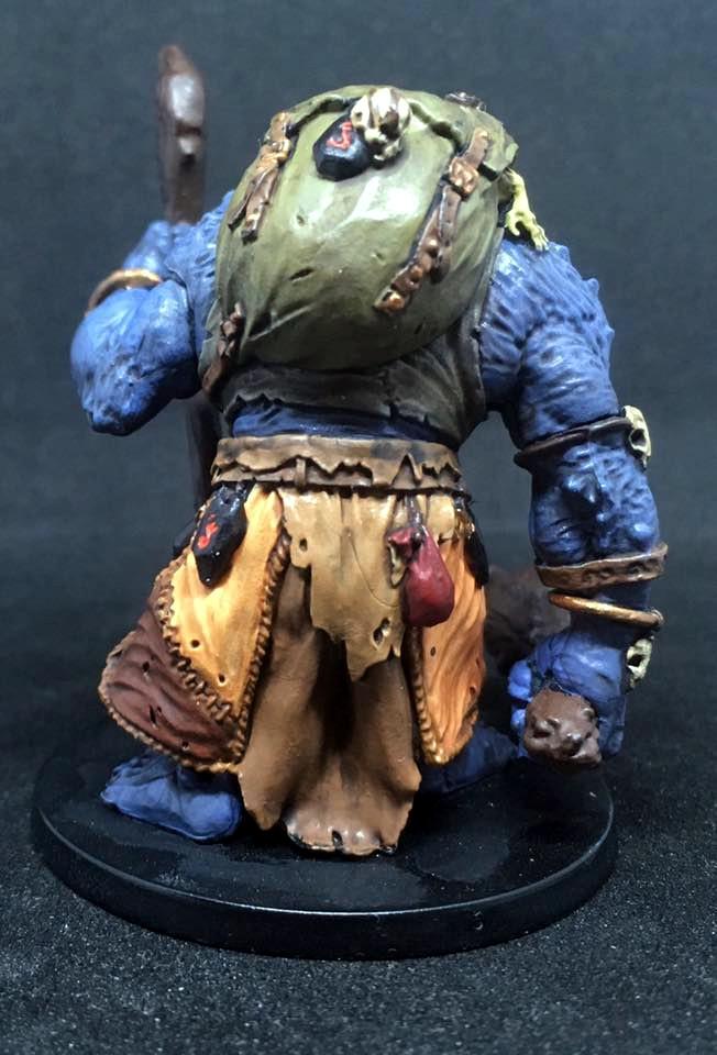 Mystic Troll Miniature