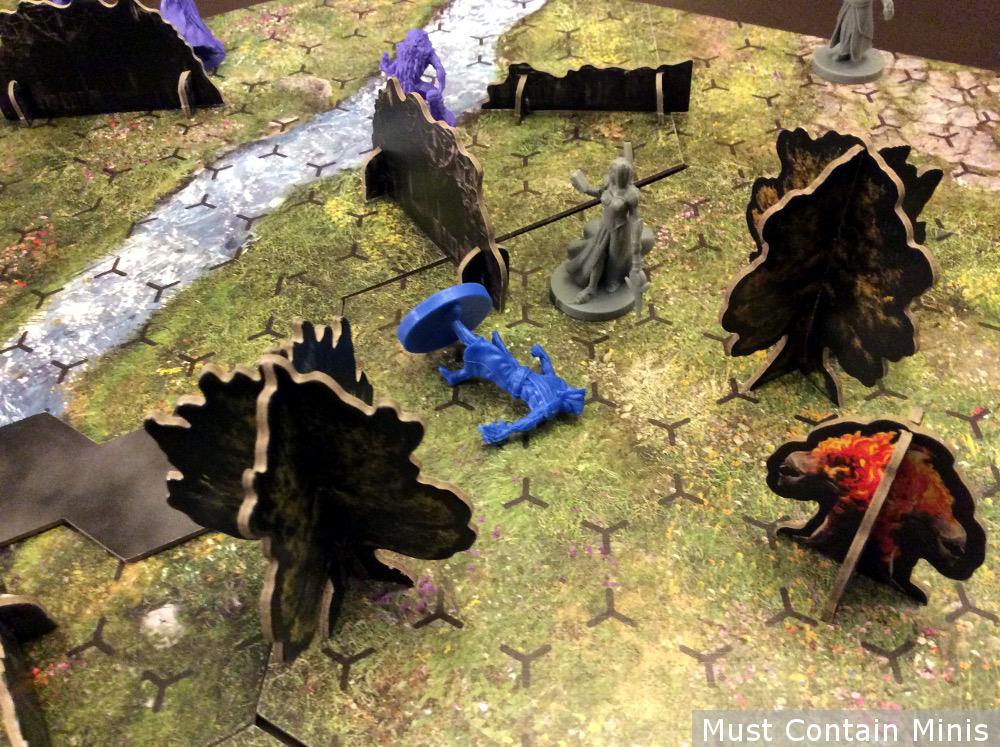 Blue Wizard Dies
