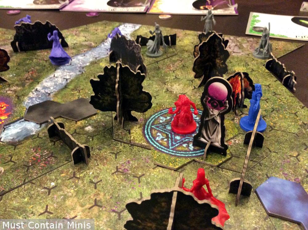 Incantris 4-Player Battle Report