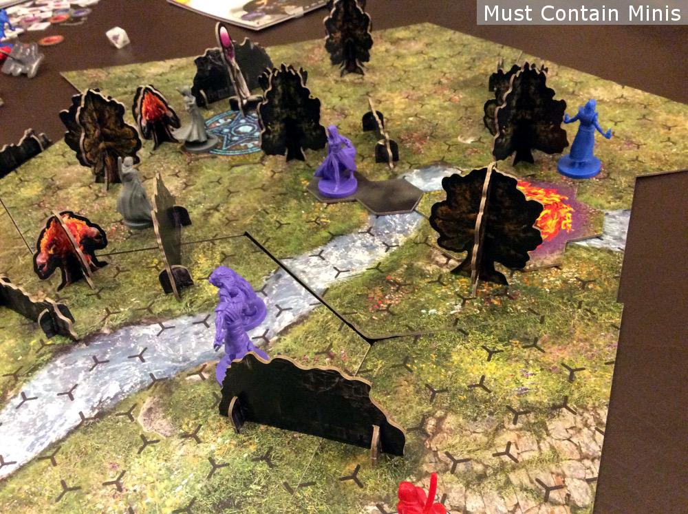 Incantris Board Game Battle Report