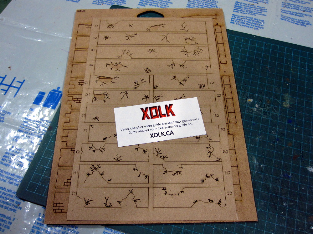 Building a XOLK MDF Terrain Kit. City Walls.
