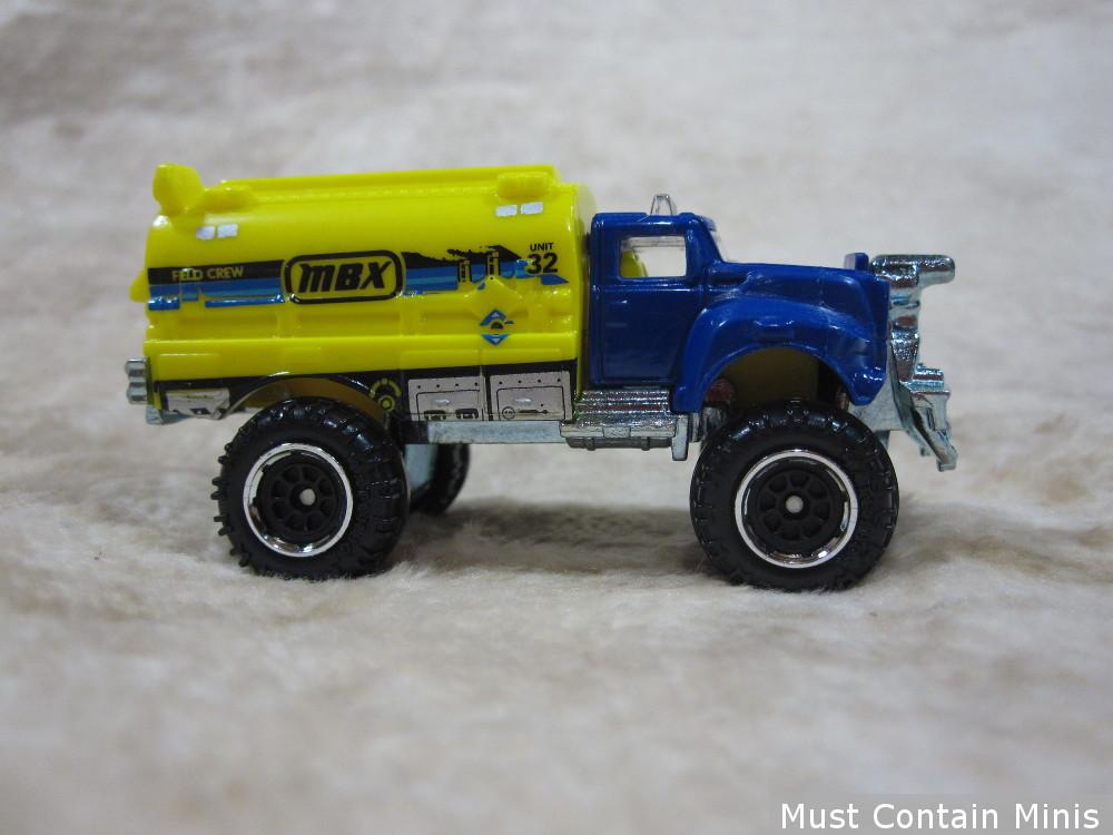 Matchbox Truck for use in Gaslands