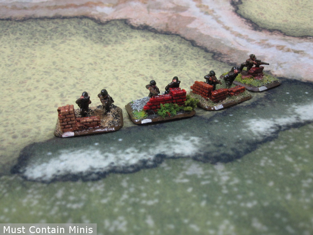 Platoon of German Snipers for Flames of War