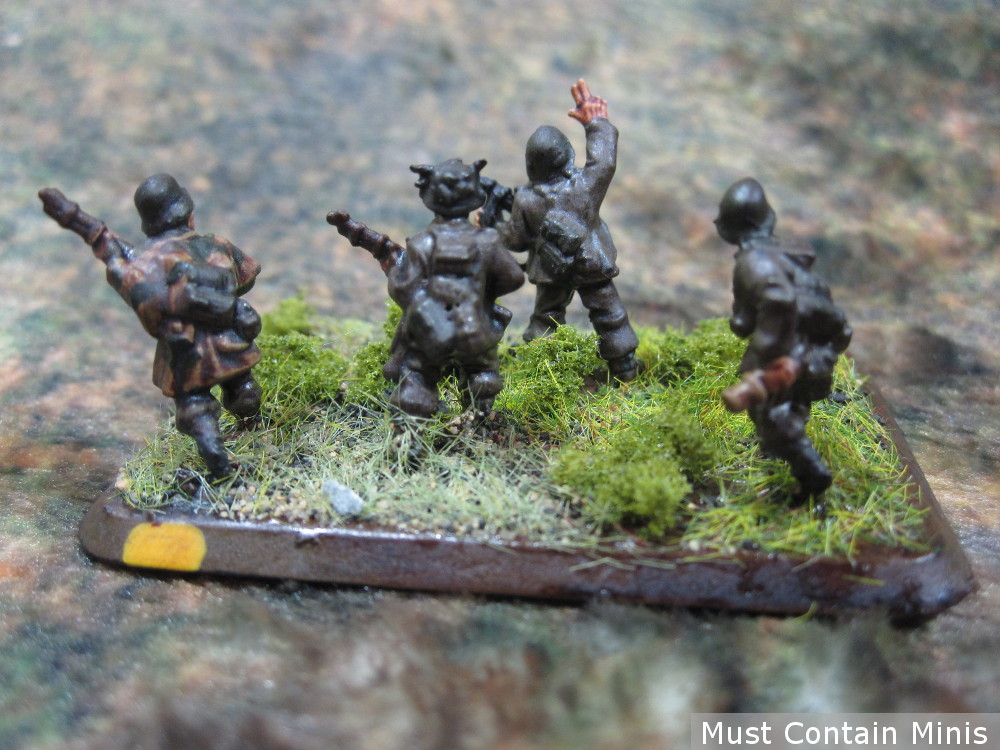 An Advancing unit of Grenadier Scouts - Flames of War