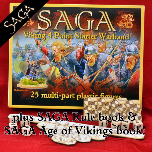 SAGA Vikings Starter Set