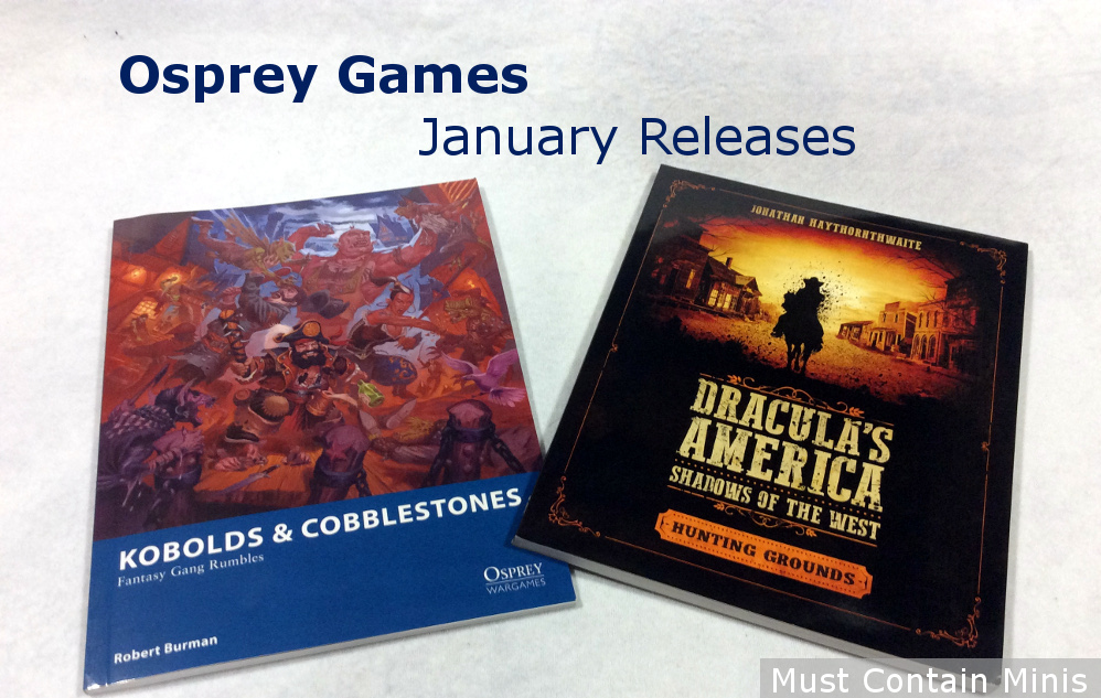 Osprey Games January 25 Releases (2018)