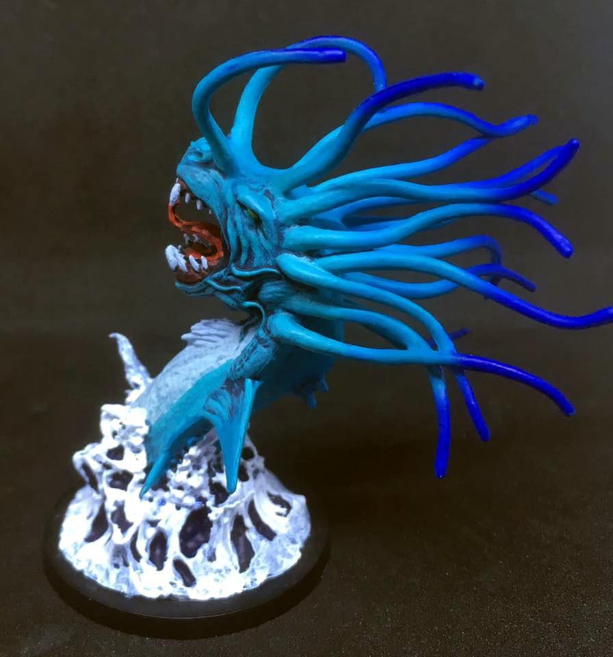 Sea Serpent Miniature