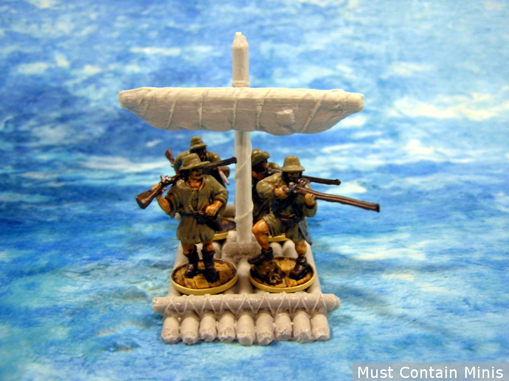 28mm to 32mm raft for miniatures games