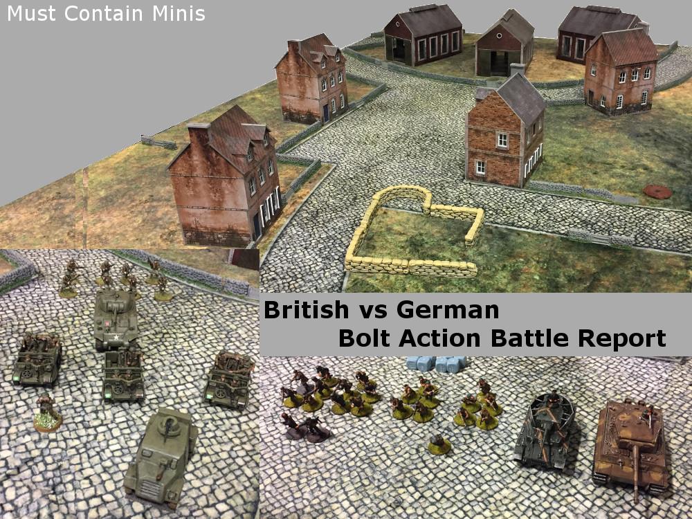 Bolt Action Battle Report: Hold Until Relieved (1000 Point British vs Germans)