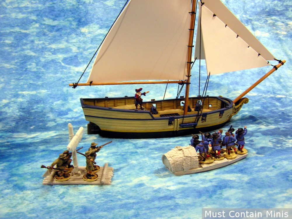 Frostgrave Boats and Firelock Games Sloop