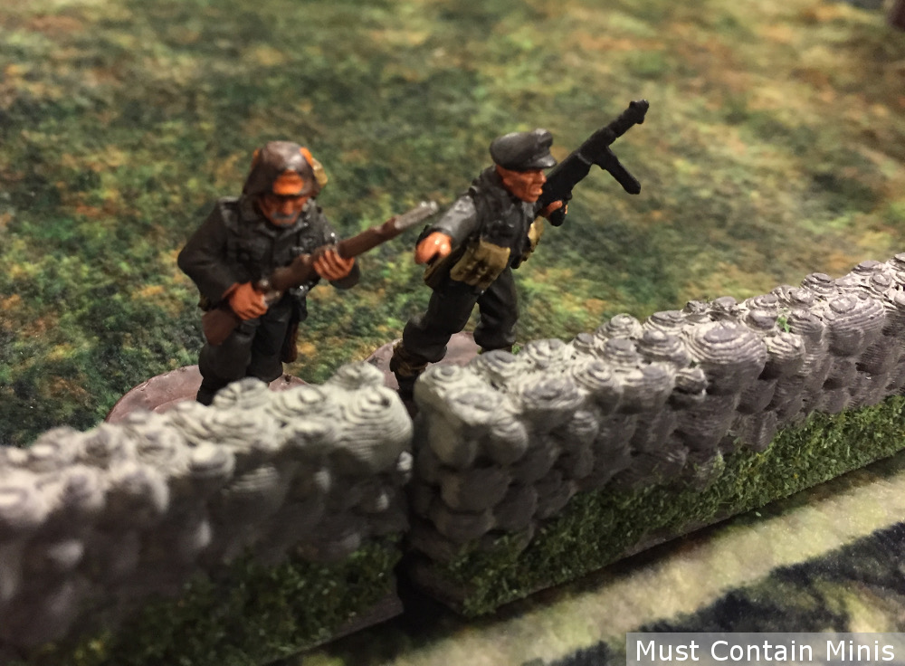 28mm WW2 German Lieutenant - Bolt Action