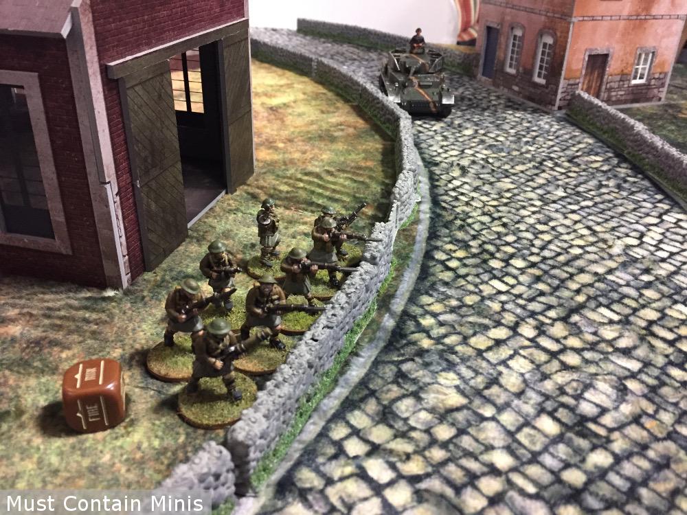 Panzer IV vs Commandos Bolt Action